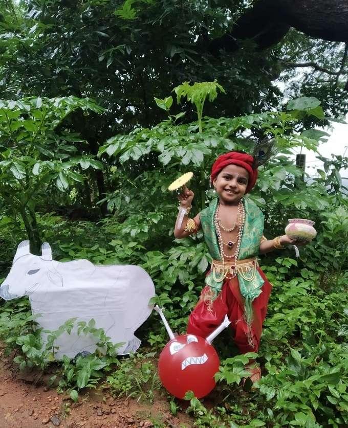 ಮಂಗಳೂರಿನ ಮುದ್ದು ಕೃಷ್ಣ ಪಾರ್ಥ ಪ್ರವೀಣ ಮಂಜ್ರೇಕರ್