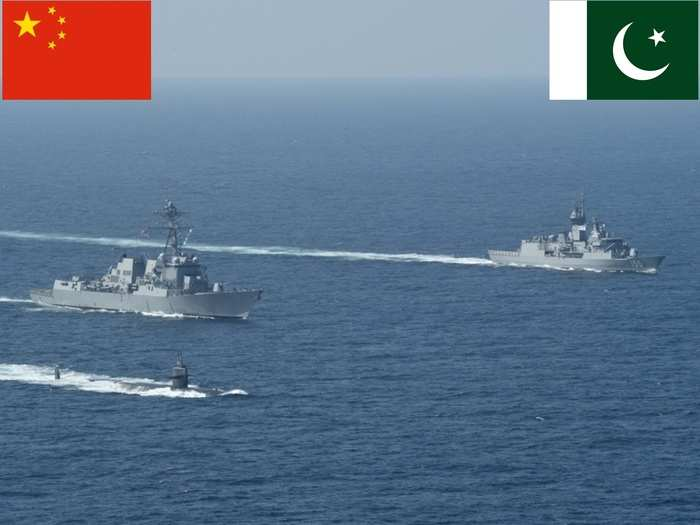 China Pak Navy