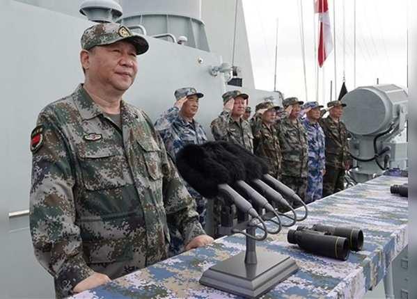 चीन ने ताइवान को भी दी सैन्य कार्रवाई की चेतावनी