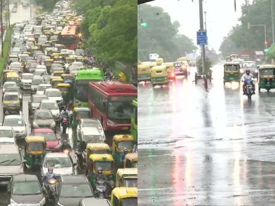 rain lashes various parts of delhi-ncr latest weather updates