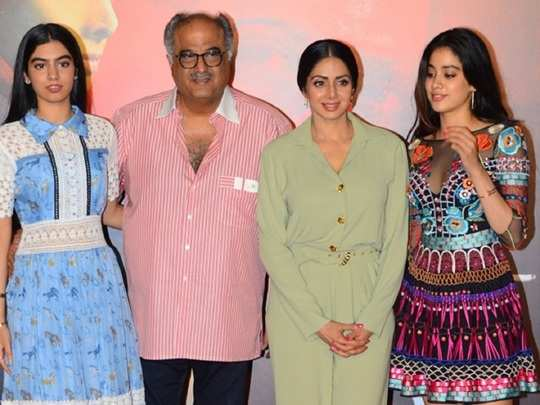 sridevi always give priority to her family in hindi