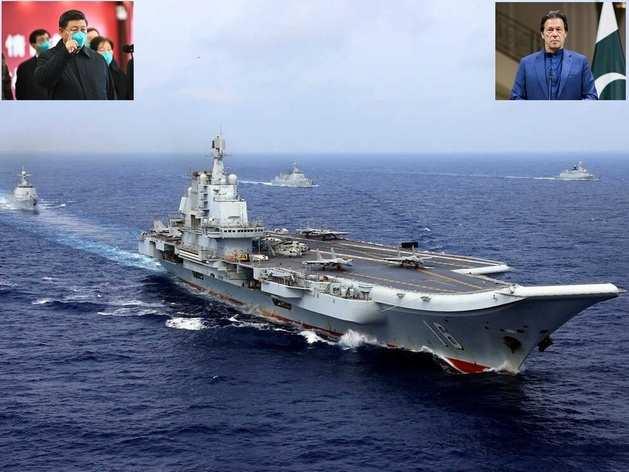 समुद्र में चीन-पाक की नापाक चाल, भारत को ऐसे घेरने की कर रहे प्लानिंग