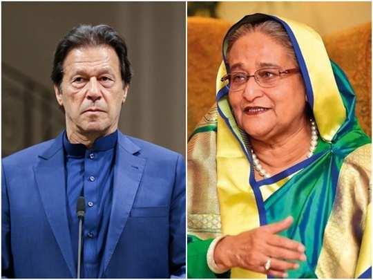 Imran Khan Sheikh Hasina