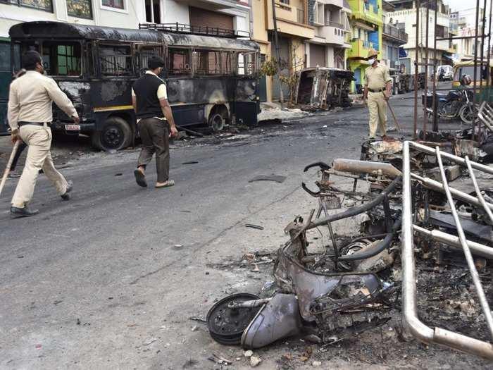बेंगलुरु हिंसा (फाइल फोटो)