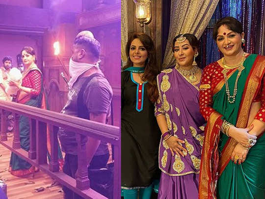 sunil grover comedy show gangs of filmistaan on location shoot pics viral on internet