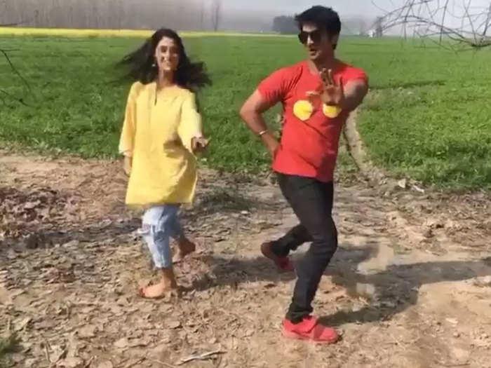 सुशांत सिंह राजपूत के डांस वीडियो का एक सीन