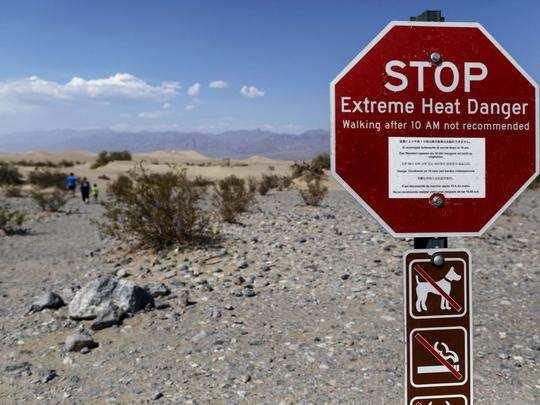 Death Valley National Park California Records 54.4 Degrees Temperature :  54.4 डिग्री पर उबल रही डेथ वैली, जानिए कहां है ये और क्यों है इतनी गर्म