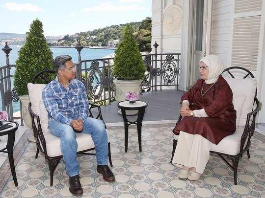 Aamir Khan Meeting With Turkish First Lady Emine Erdogan ...