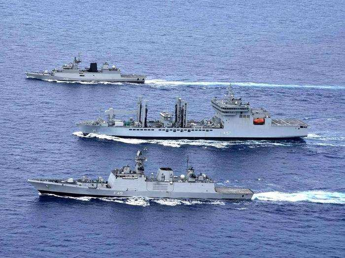 indian navy commanders important meet in new delhi amid border tensions with china