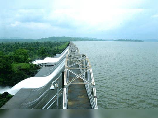 tansa dam : मुंबईकरांसाठी खुशखबर! तानसा तलाव ओसंडून वाहू लागला (संग्रहित फोटो)