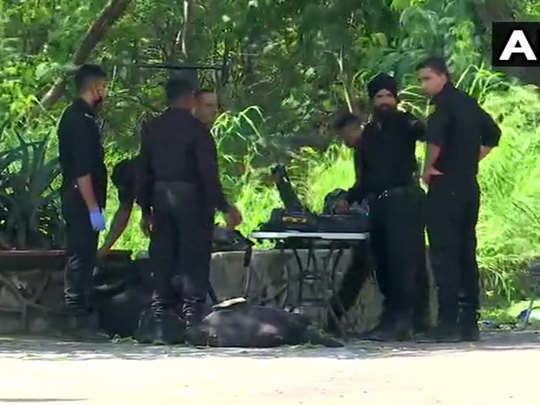 delhi: one isis operative arrested nsg commandos deployed near buddha jayanti park in ridge road area