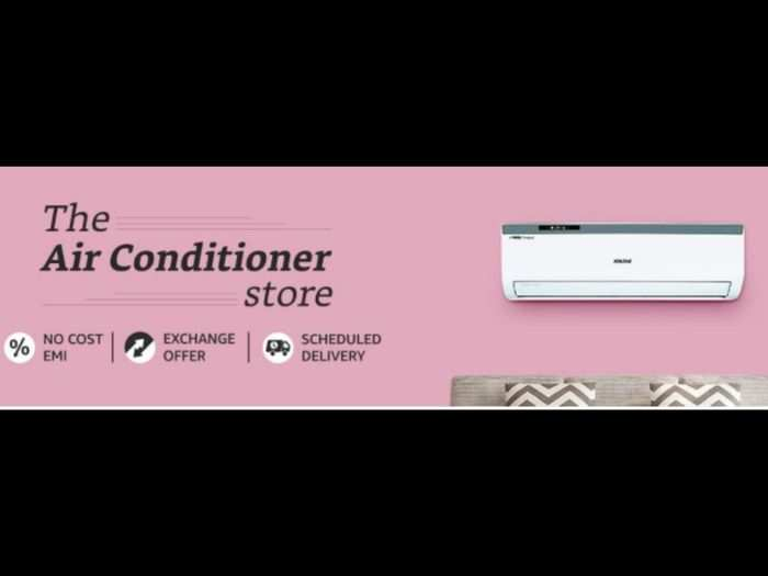 amazon india announces monsoon appliances sale great offers and deals on fridge washing machine ac