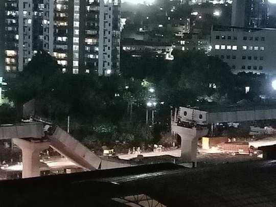did gurugram sohna road flyover bridge collapsed due to corruption