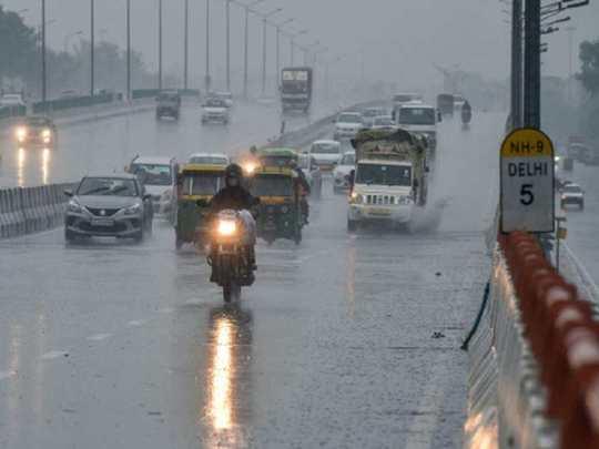 Delhi-Barish-News