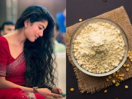 besan or gram flour benefits for thick black hair growth