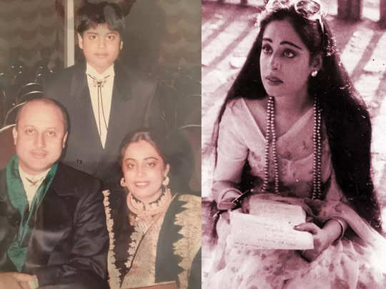 anupam kher share a throwback picture with wife actress kirron kher and post a beautiful note of their 35th wedding anniversary