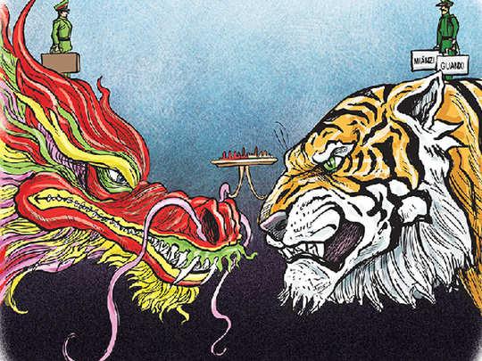 indo china standoff