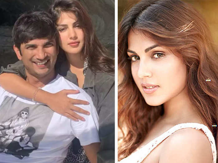 rhea chakraborty reportedly said that her only fault is that she loved sushant singh rajput