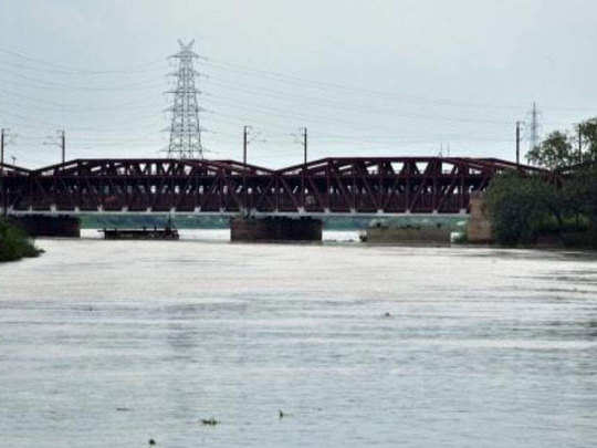 yamuna water level