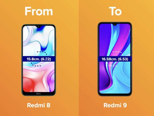 redmi 9 vs redmi 8 price, features and specifications comparison