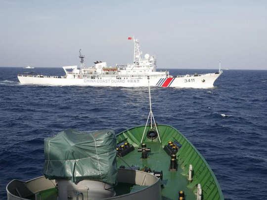 दक्षिण चीन सागर पर विवाद (प्रतीकात्मक तस्वीर)