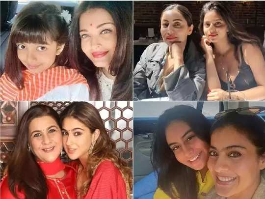 mother daughter perfect pairs of bollywood in hindi