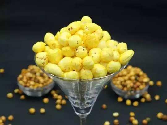 health benefits of makhana or fox nuts in Marathi