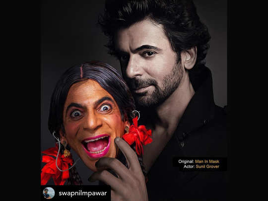 sunil grover hilarious bts video from the set of his new show gangs of filmistan