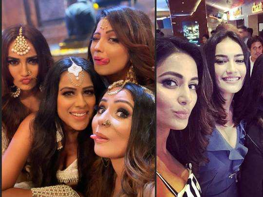 hina khan to surbhi jyoti celebrities spotted wearing the same outfits