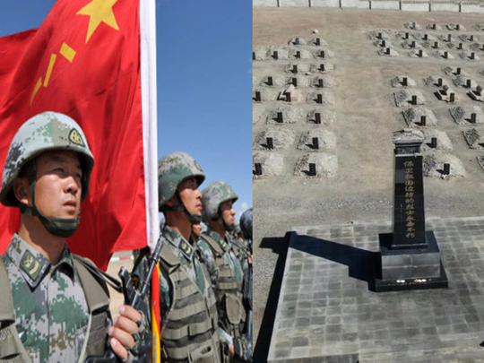 galwan valley clash more than 80 chinese soldiers died pla soldiers grave pictures went viral