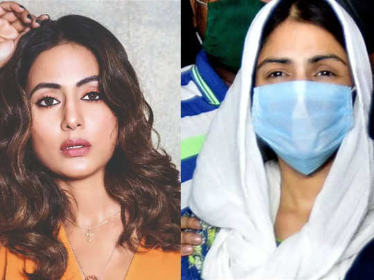 hina khan speaks on rhea chakraborty media trial says let cbi investigate sushant case you may damage her career with accusations