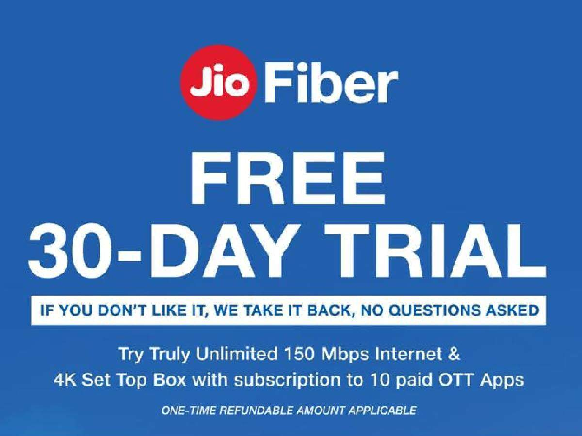 Jio Fiber New Plans with 30 Days Free Trial Offer: 30 நாட்கள் இலவச ஜியோ  ஃபைபர் சேவை; அடுத்தக்கட்ட ஆட்டத்தை ஆரம்பித்த அம்பானி! - reliance jio  introduced new fiber unlimited broadband internet ...