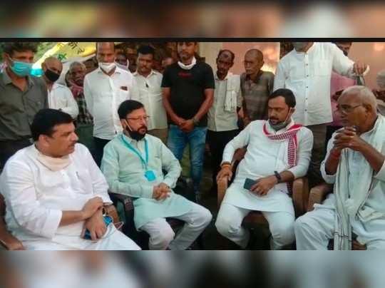 रायबरेली कस्टडी में मौतः युवक के घर पहुंचे आप सांसद संजय सिंह, सरकार से मांगा 50 लाख मुआवजा