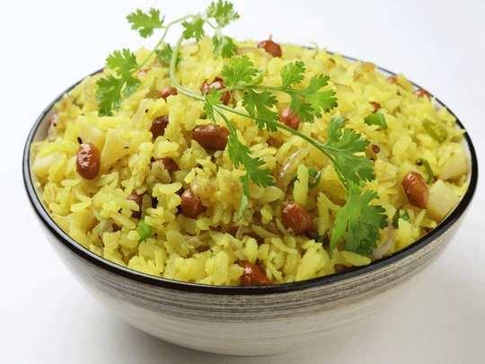 health benefits of eating poha for breakfast in marathi