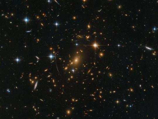 india News : भारतीय खगोलविदों ने ब्रह्मांड में सबसे दूर स्टार आकाशगंगाओं  में से एक को खोज निकाला - indian astronomers have discovered one of the  farthest star galaxies in the universe |