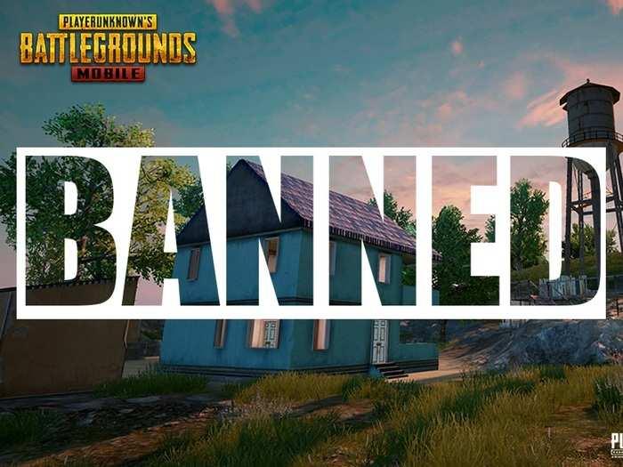 PUBG Ban