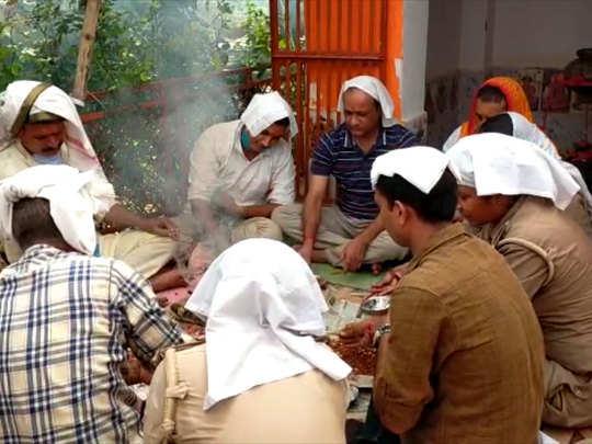 चौबेपुर थाने में हवन-पूजन