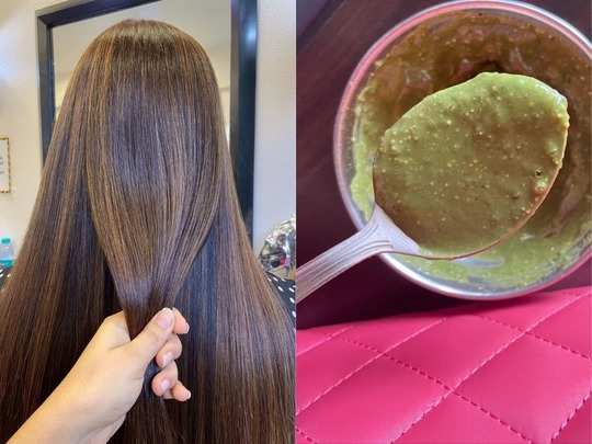 these methi hair packs will make your dull hair strong thick and control hair loss