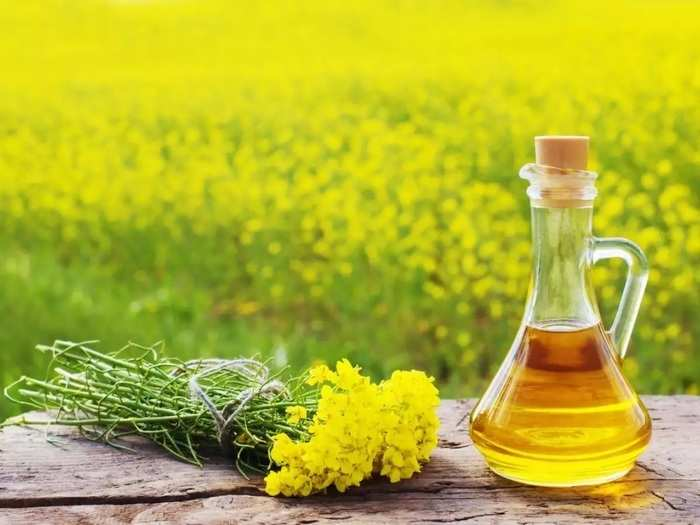 know the benefits of mustard oil for your skin and hair in marathi