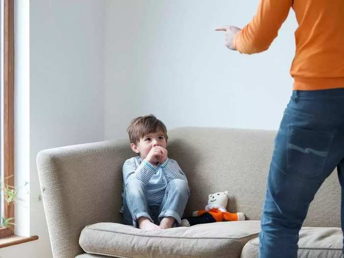 why beating child is not good way of dealing in marathi