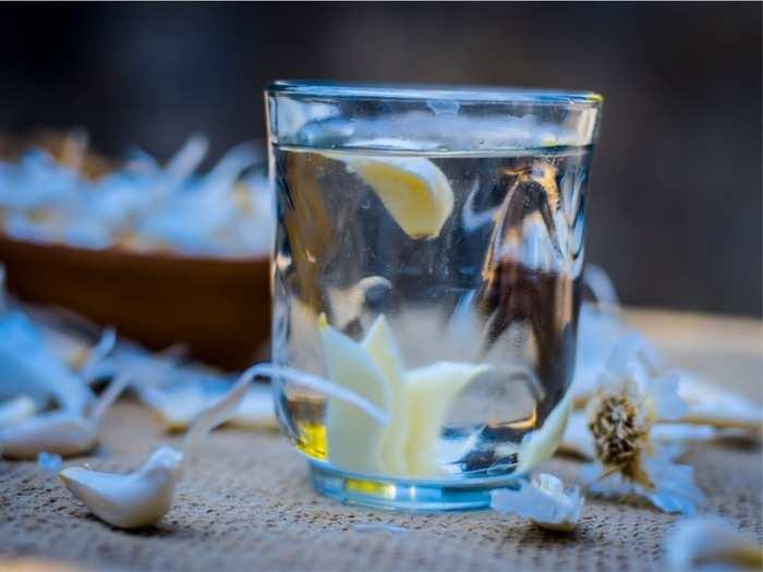 garlic-water
