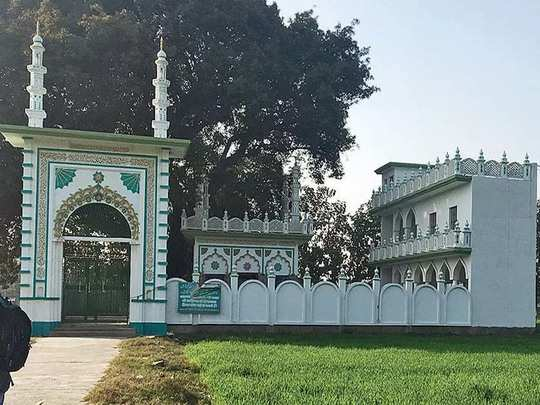 इसी जगह पर होगा मस्जिद का निर्माण