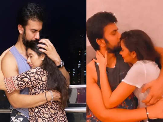 charu asopa rajeev sen shower love and kisses on each other after patch up watch romantic video