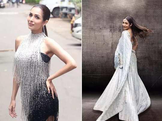 bollywood actress malaika arora fashion style and glamorous look photo in Marathi