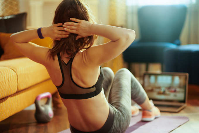 Exercising regularly is good for health