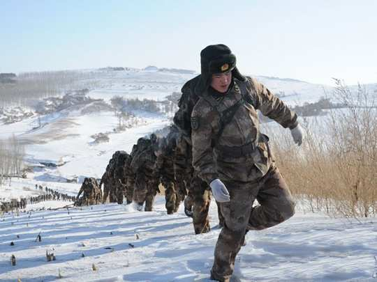 China Army Cold 01