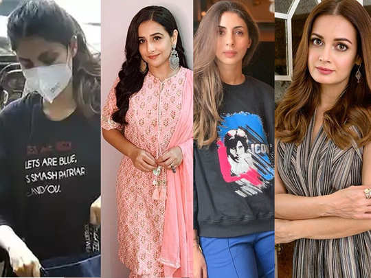 bollywood actors who put up the post to show solidarity with after rhea chakraborty with a slogan lets smash the patriarchy me and you