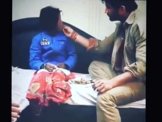 throwback video of Sushant Singh Rajput