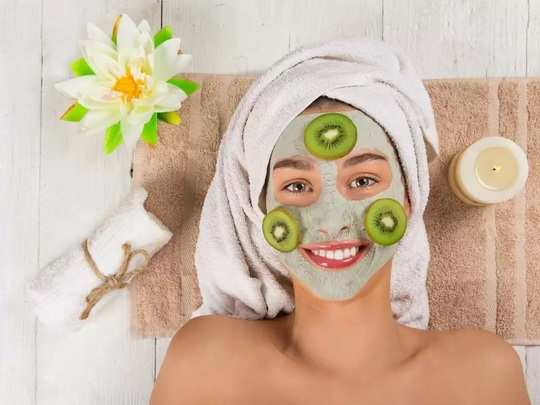 how to do natural and safe diy face mask or face pack at home for pregnant woman in marathi