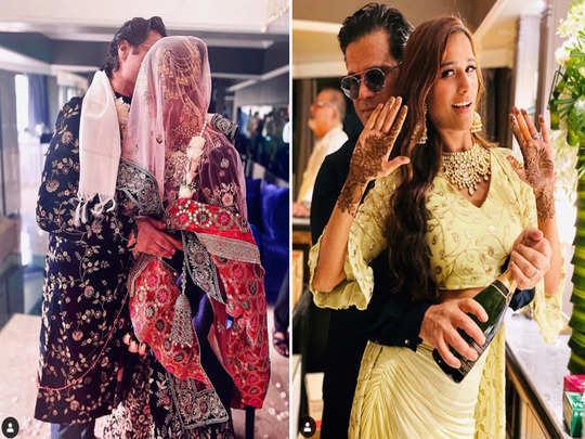 poonam pandey bridal look is beautiful as she marries her boyfriend sam bombay see their wedding photos